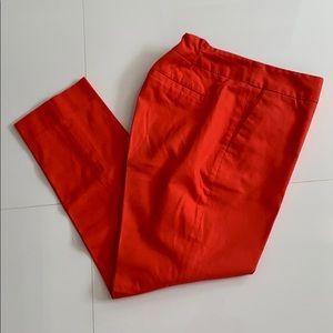 Banana Republic Bright Orange Coral Dress Pant 2